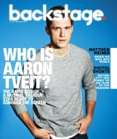 Aaron Tveit Backstage Cover by Suzy Evans