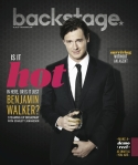 Benjamin Walker Backstage Cover by Suzy Evans