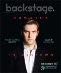 Dan Stevens Backstage Cover by Suzy Evans