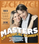 Kelli O'Hara and Matthew Broderick Backstage Cover by Suzy Evans