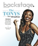 Patina Miller Backstage Cover by Suzy Evans