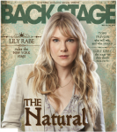 Lily Rabe Backstage Cover by Suzy Evans