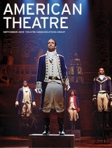Lin-Manuel Miranda on the Cover of American Theatre Magazine's September Issue
